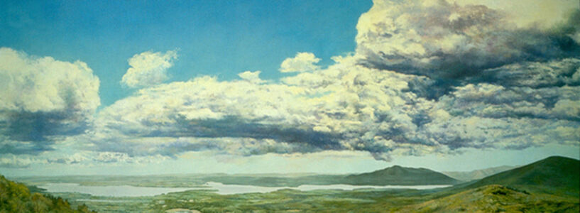 Douglas James Maguire, 'View from Tonche', 1989
