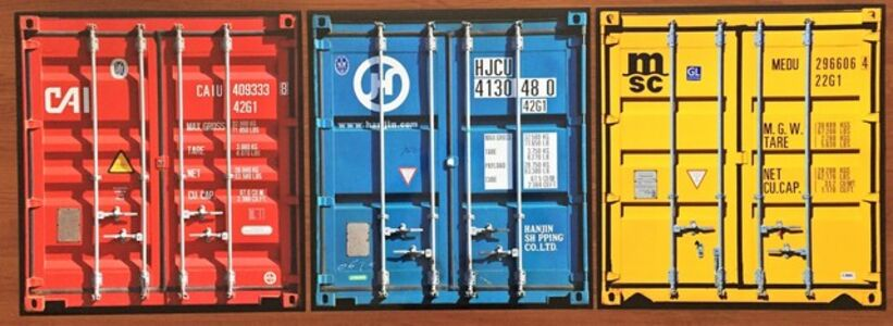 Thomas Eigel, 'Travellers Shipping Containers', 2012