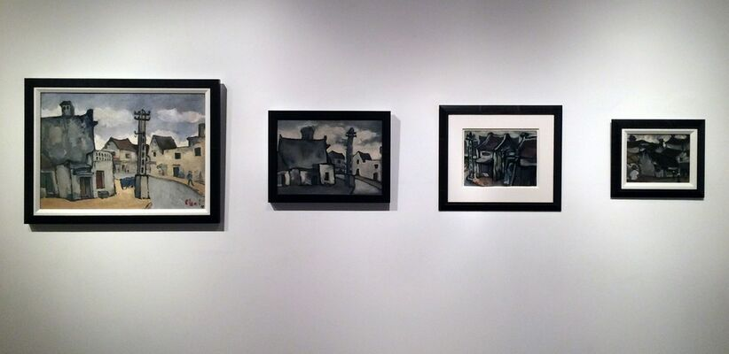 Post-War Vietnamese Art from the Albert I. Goodman Collection, installation view