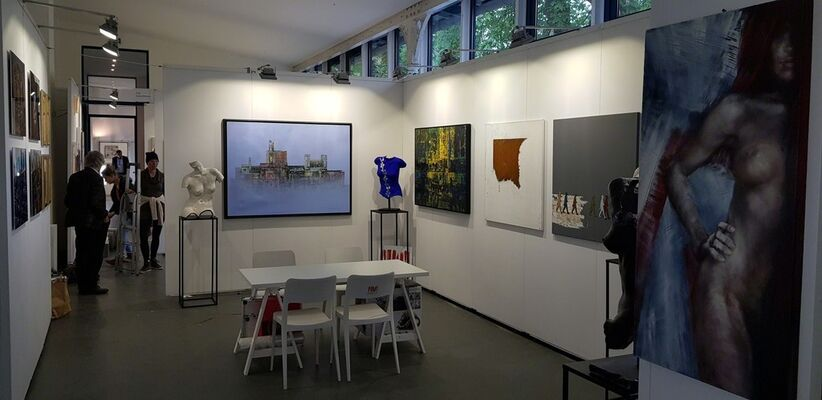 Parcus Gallery at ARTMUC 2019, installation view