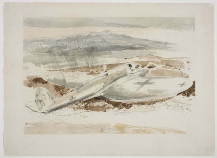 Paul Nash, 'The Raider on the Moors', 1940