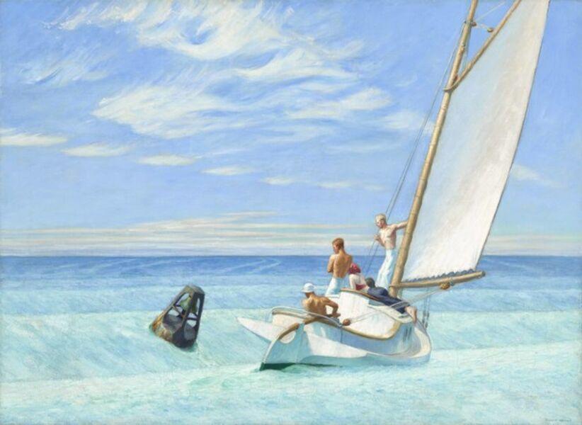 Edward Hopper, 'Ground Swell', 1939
