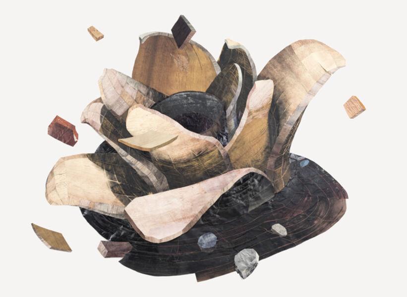 Yashua Klos, 'Spiral Flower', 2017
