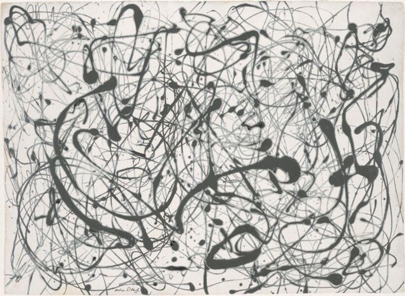 Jackson Pollock, 'Number 14: Gray', 1948