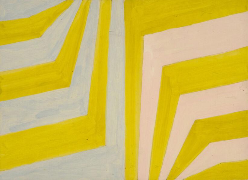 Michael Kidner, 'Dog Leg stripes', 1962