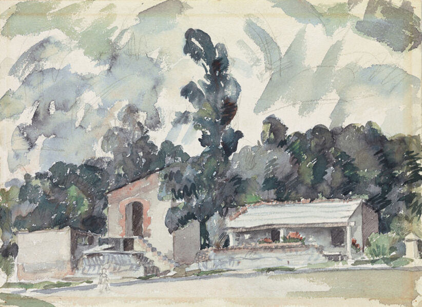 Aaron Douglas, 'Adobe Houses.', 1940