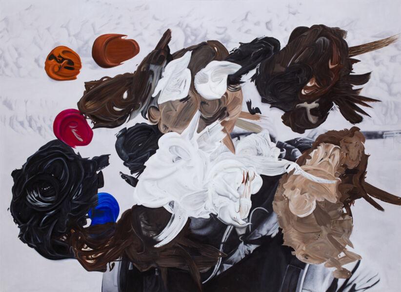 Eduardo Sarabia, 'Gold Tooth', 2019