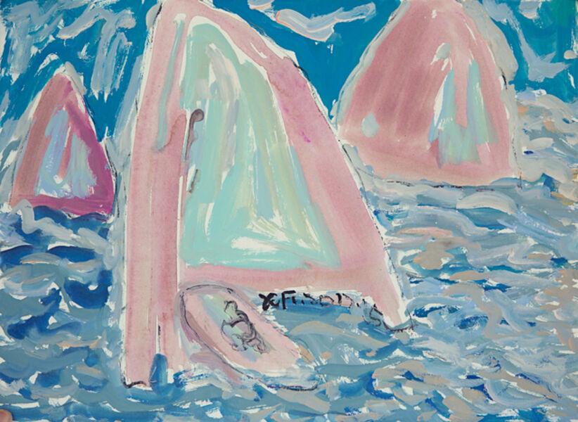 Xianfeng Zhao, 'Boats', 2017