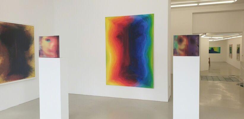 """Johannes Deutsch """"Serien und Sequenzen 1986 - 2019"""", installation view"""