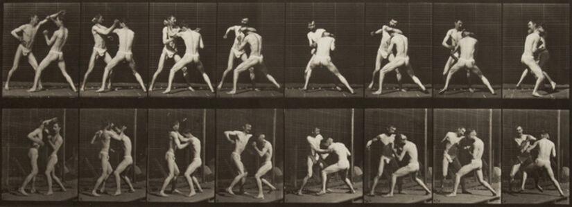 Eadweard Muybridge, 'Boxing, open hand.', 1887