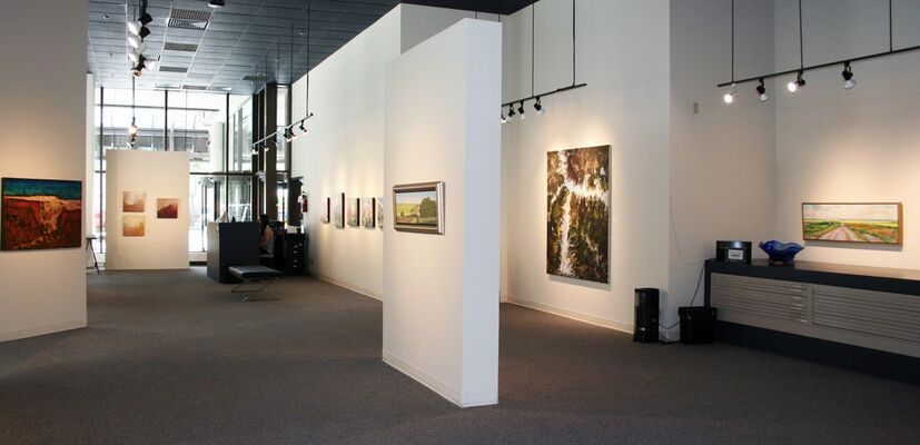 Canada Day Group Show, installation view