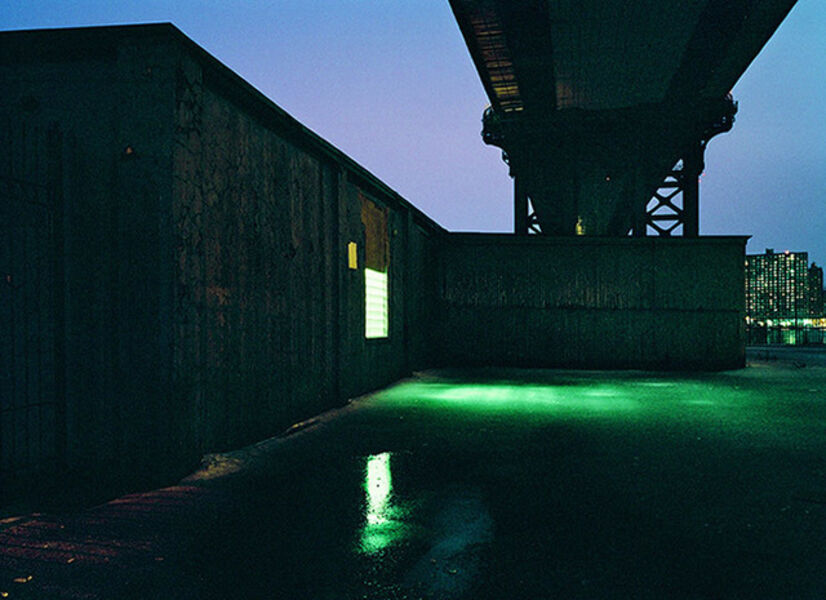 Lynn Saville, 'Under the Manhattan Bridge'