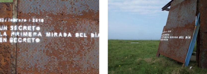 Raúl Hevia, 'Lost Year's Words - 12 de febrero', 2011