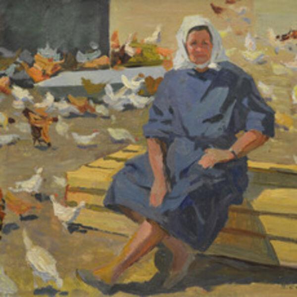 Vasily Vasilevich Strigin, 'Farmer', 1965
