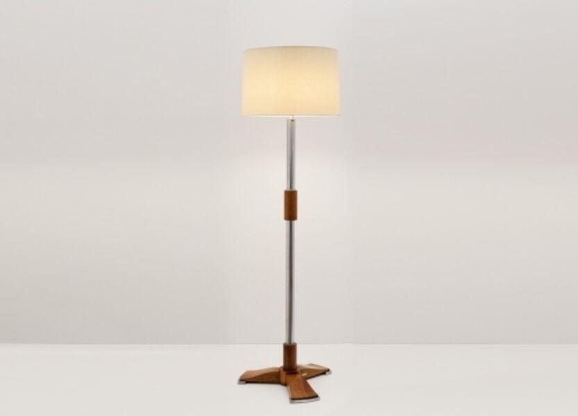 Jules Leleu, 'Fine Art Deco Floor Lamp', ca. 1932