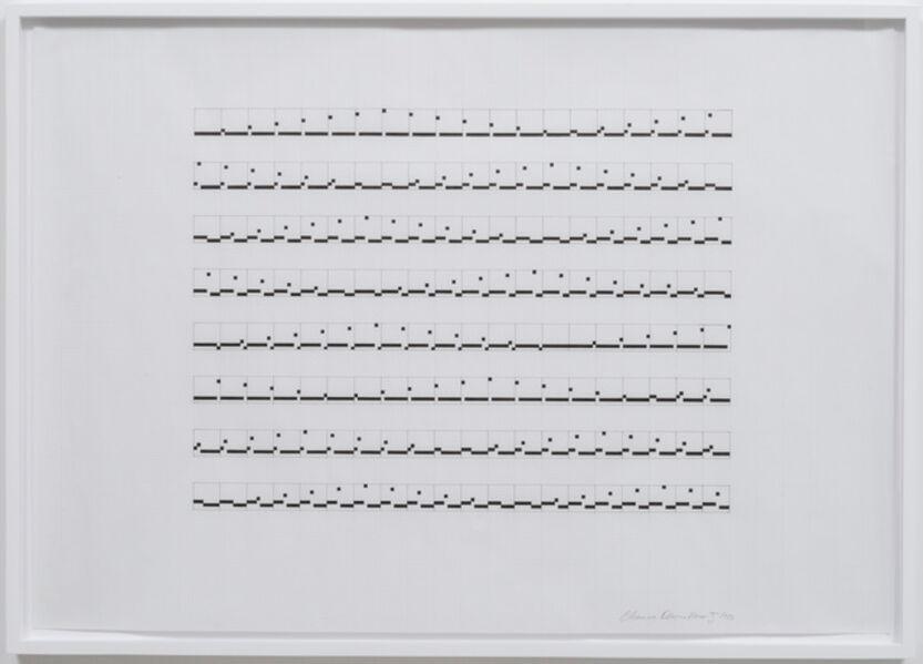 Channa Horwitz, 'Sonakinatography Movement #5', 1973