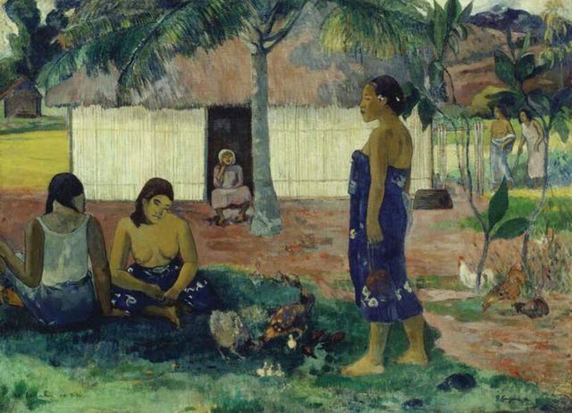 Paul Gauguin, 'Why Are You Angry? (No Te Aha Oe Riri)', 1896