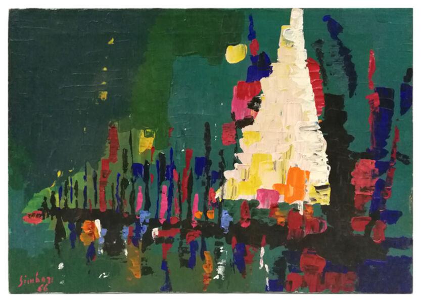 Nicola Simbari, 'Nocturne', 1966
