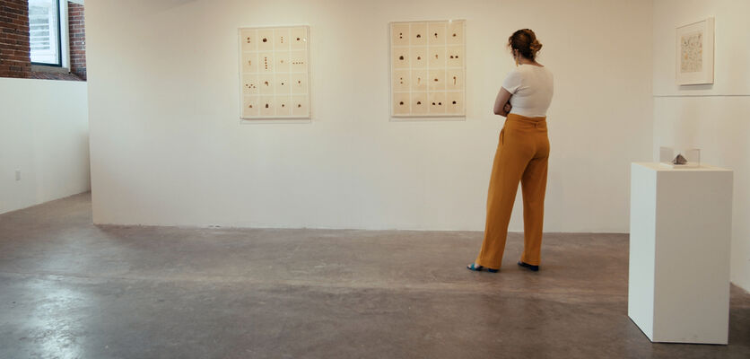 Hannah Wilke: Friendship, installation view