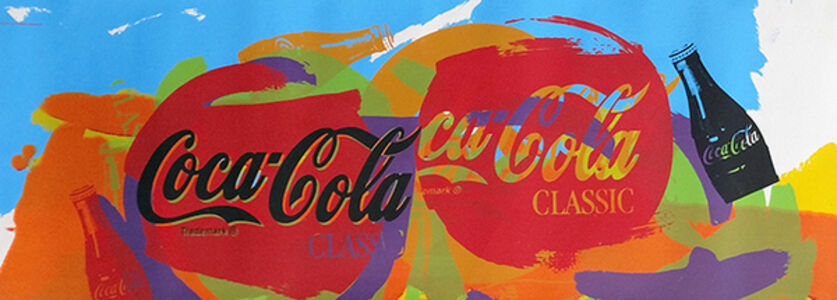 Steve Kaufman, 'Coca Cola', 2001-2007