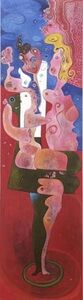 Ana Maria, 'Em ondas sucessivas', 2008