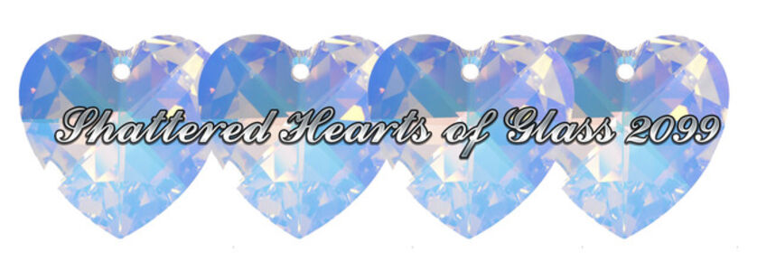 Mati Jhurri, 'SHATTERED HEARTS OF GLASS 2099'