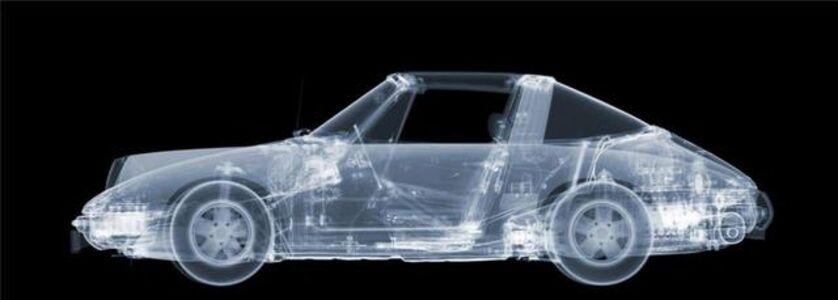 Nick Veasey, 'Porsche 911 Targa (+ Roof)', 2020