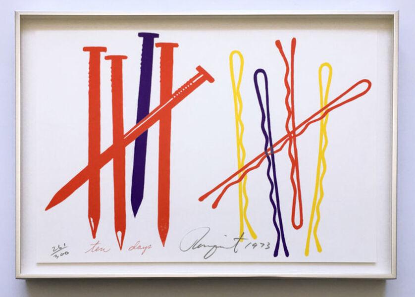 James Rosenquist, 'Ten Days (Glenn 68)', 1973