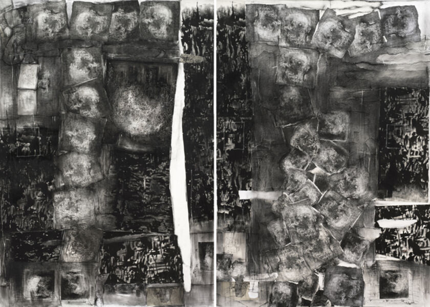 Catalina Chervin, 'Untitled (Collage Diptych)', 2014-2016