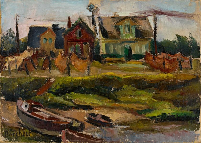 Eduard Bargheer, 'Finkenwerder', 1926-1928