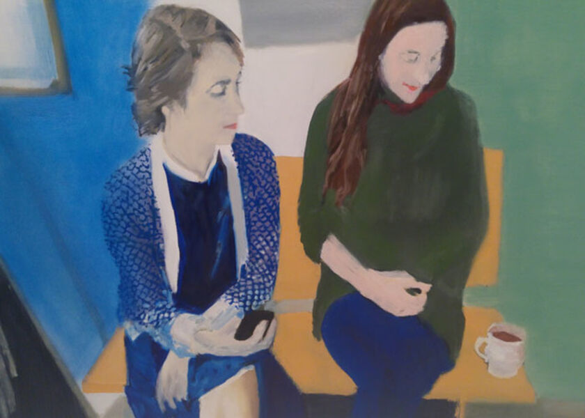 Miltos Manetas, 'Untitled (Didone & Delfina)', 2013