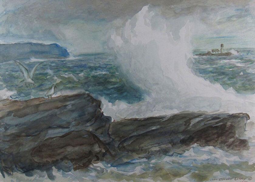 John Steuart Curry, 'Lighthouse Bay', ca. 1930