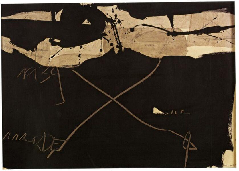 Manolo Millares, 'Sin título', 1963