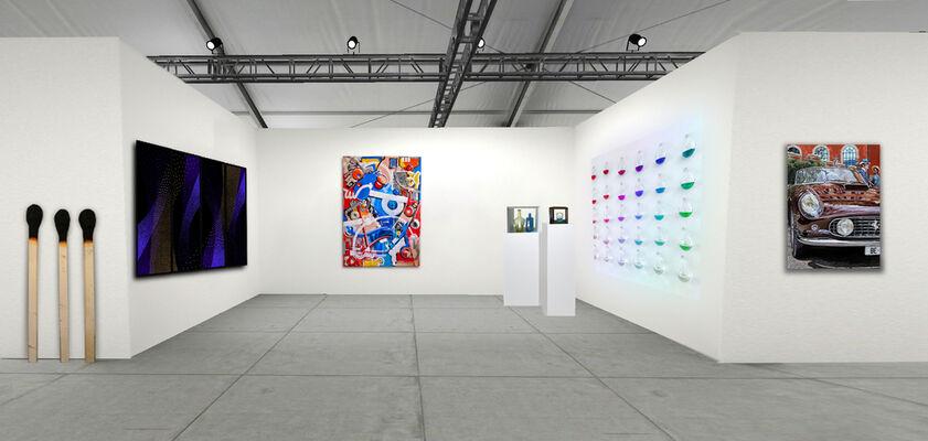 Mark Hachem Gallery at Art Miami 2020, installation view
