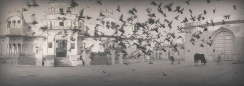 Silke Lauffs, 'Early morning at the temple, Pushkar, Rajasthan, India', 2002