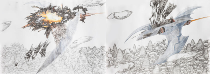 Chen Xi 陈熹, 'betmen jump into the new aircraft, betmen jump out of the old aircraft', 2012