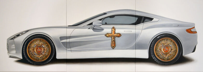 Matus Lanyi, 'The Car (aka Aston), IHS series (3 panels)', 2014