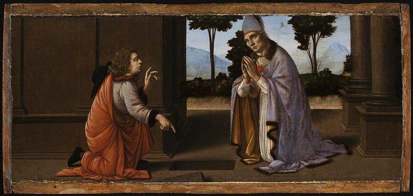 Leonardo: Discoveries from Verrocchio's Studio, installation view
