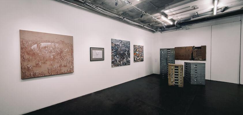 WALLS, installation view
