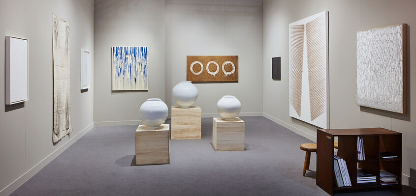 Tina Kim Gallery at FOG Design+Art 2020, installation view