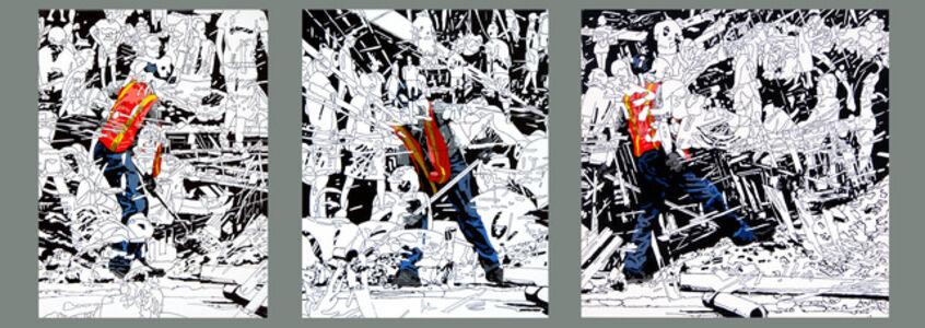 Kentaro Hiramatsu, 'Untitled (Person-Work-8 (L,M,R))', 2009