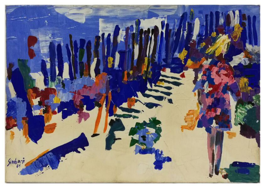 Nicola Simbari, 'Torvaianica - Roman Seaside', 1961