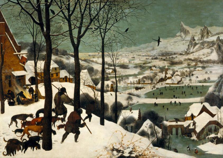 Pieter Bruegel the Elder, 'The Hunters in the Snow', 1565