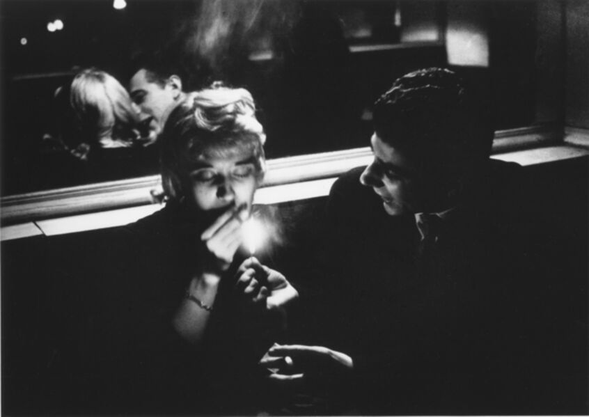 """Willy Ronis, '""""Le Bioule"""", Paris', 1957"""