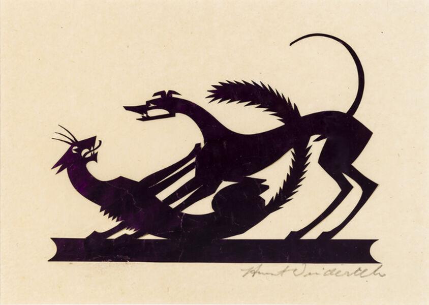 Wilhelm Hunt Diederich, 'Cat and Dog', 1920s-1930s