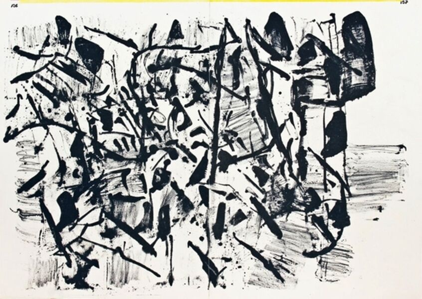 Jean-Paul Riopelle, 'Untitled (from 1 Cent Life Portfolio)', 1964
