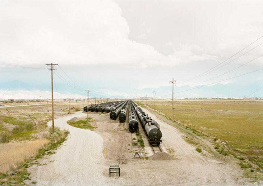 Victoria Sambunaris, 'Untitled (tankers), Salt lake City, Utah', 2018