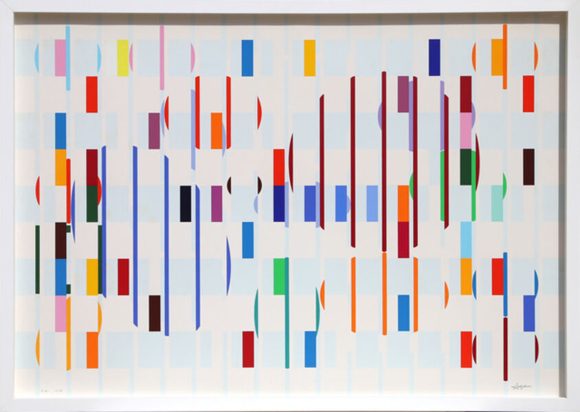 Yaacov Agam, 'Bird's Eye View', 1978