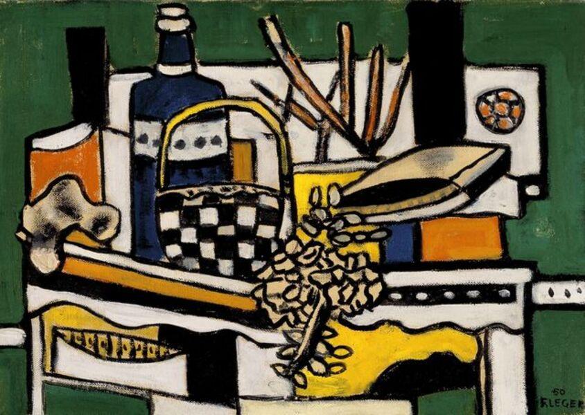 Fernand Léger, 'La bouteille bleue', 1950