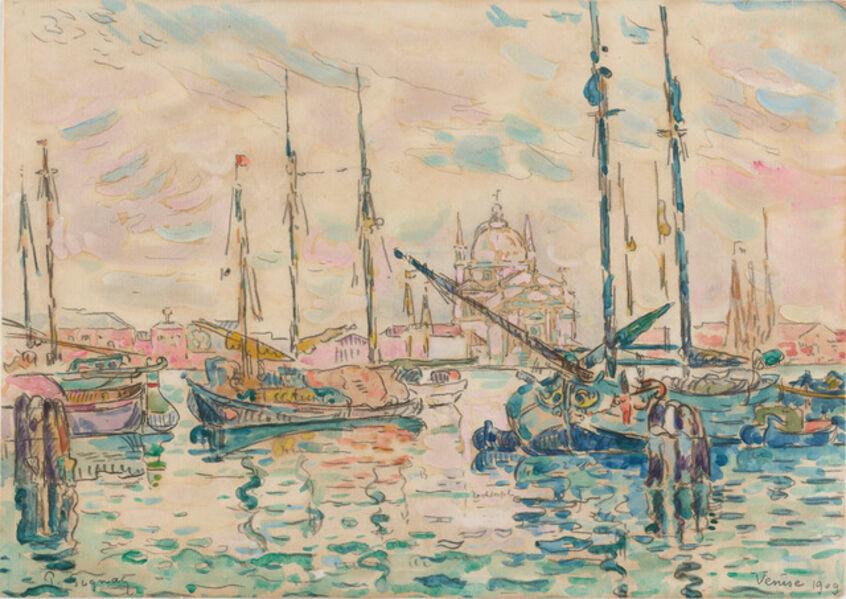 Paul Signac, 'Venise, le Rédempteur', 1909
